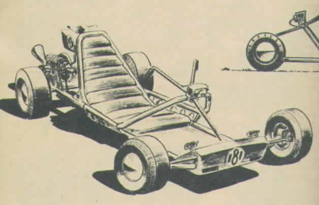 go kart frame. of the basic go-kart frame